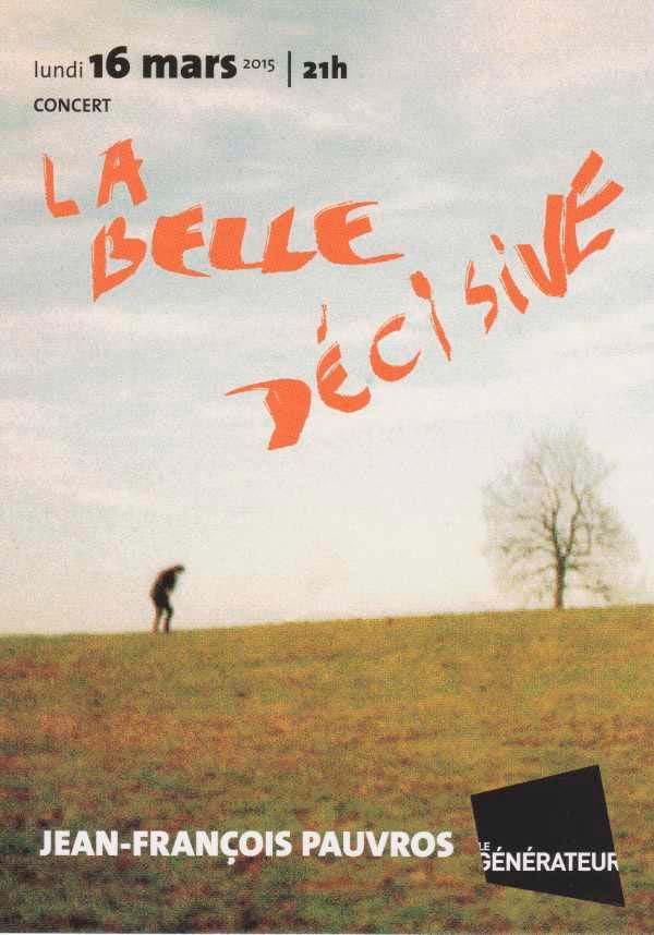 Flyer La belle décisive