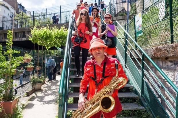 Fête de la nature aux Jardins du Ruisseau, 23 mai 2015 photo Yan Vriegers