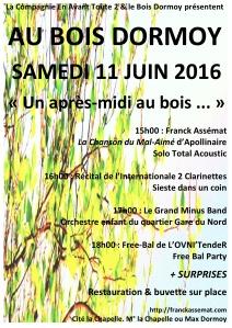 affiche concert 11 juin